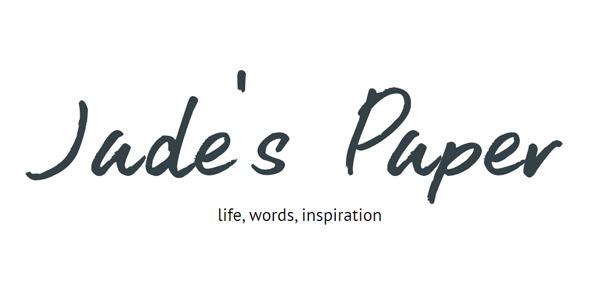 Jades Paper Blog